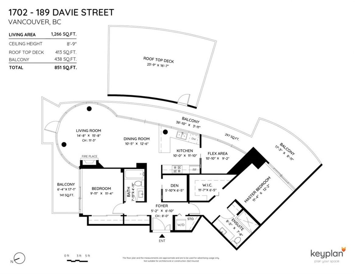 189-davie-street-yaletown-vancouver-west-38 at 1702 - 189 Davie Street, Yaletown, Vancouver West