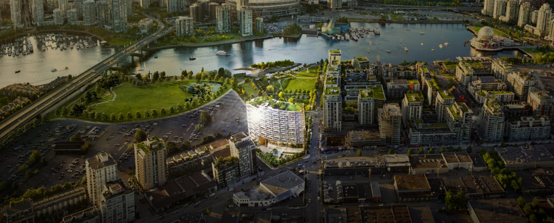 avenue-one-presale-false-creek-by-concord-pacific at 201 W 2nd Avenue, Olympic Village, Vancouver West