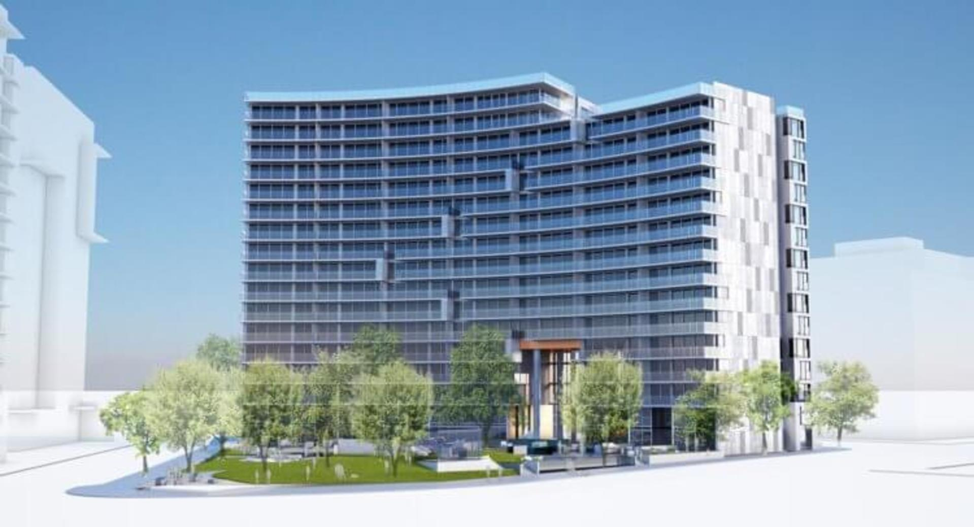 avenueone-external-render2-750x406 at 201 W 2nd Avenue, Olympic Village, Vancouver West