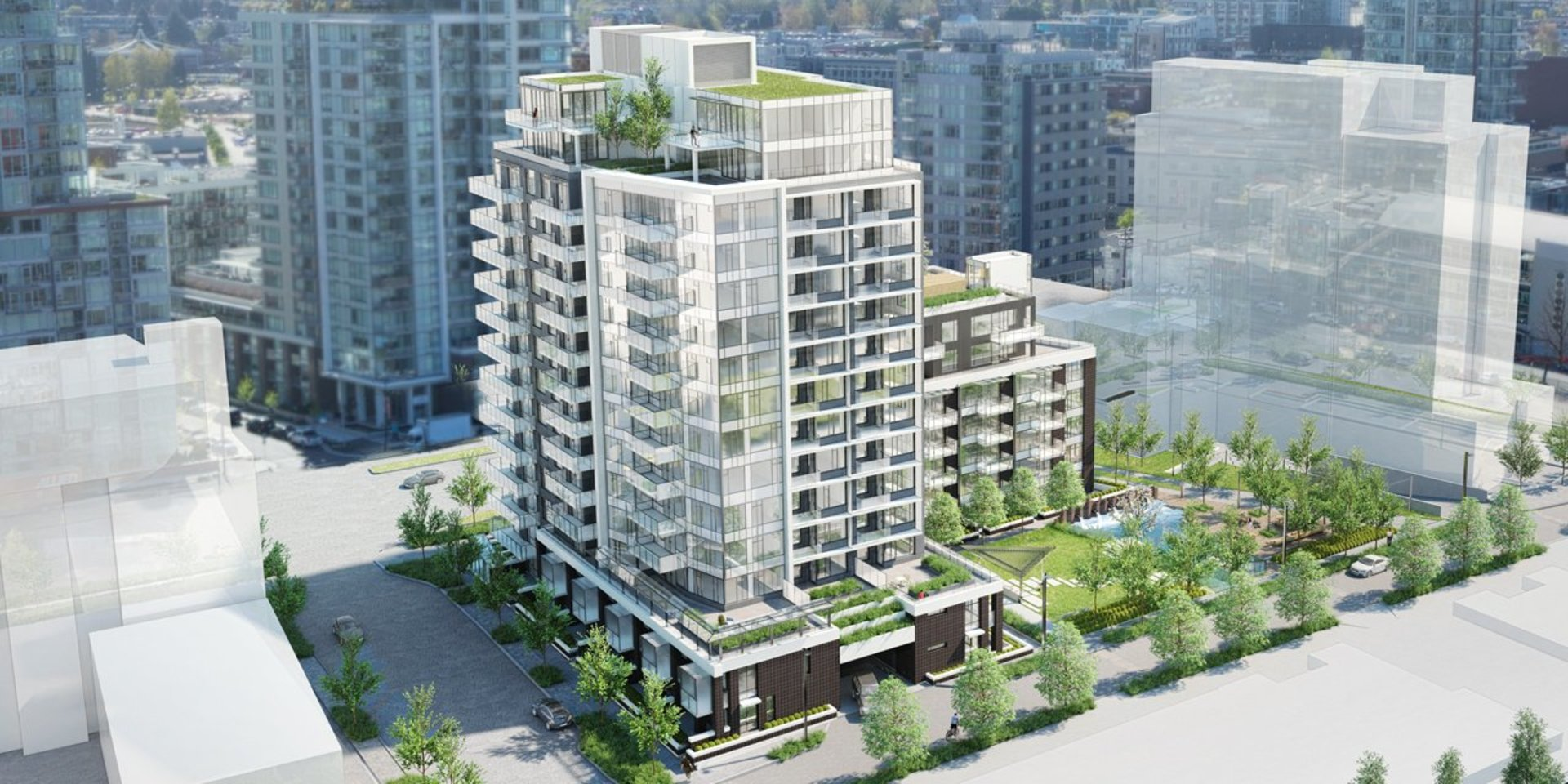voda_at_the_creek_architectural_rendering at 1661 Quebec Street, Olympic Village, Vancouver West