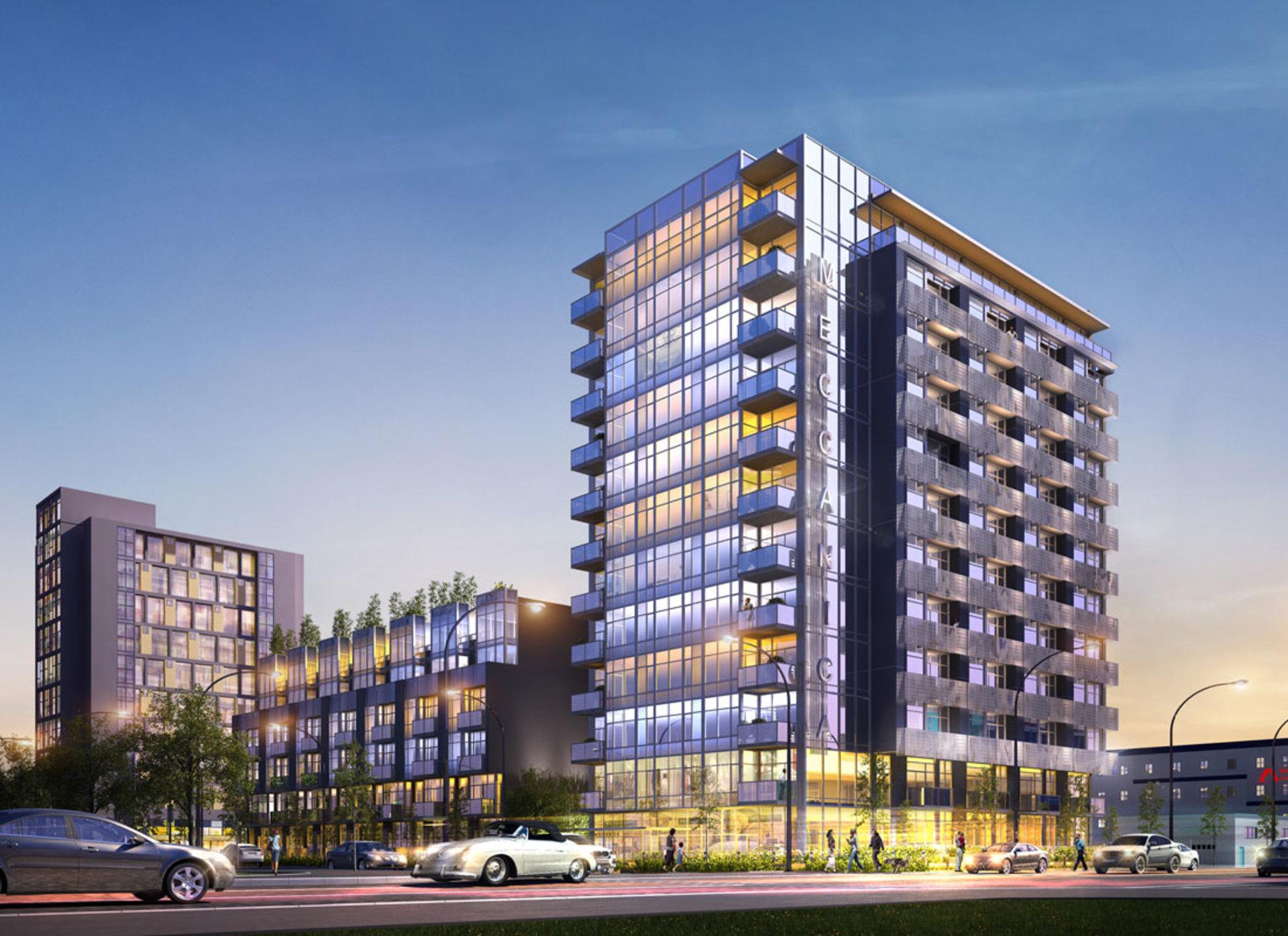 108 E 1st Avenue, Olympic Village, Vancouver West