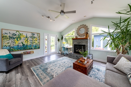 Family Room at 1378 Oakwood Crescent, Norgate, North Vancouver