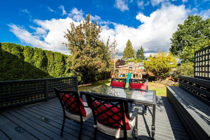 Patio/Back Yard at 426 E 10th Street, Central Lonsdale, North Vancouver