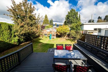 Patio at 426 E 10th Street, Central Lonsdale, North Vancouver