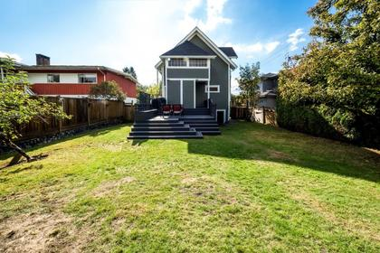 House, Rear Exterior at 426 E 10th Street, Central Lonsdale, North Vancouver