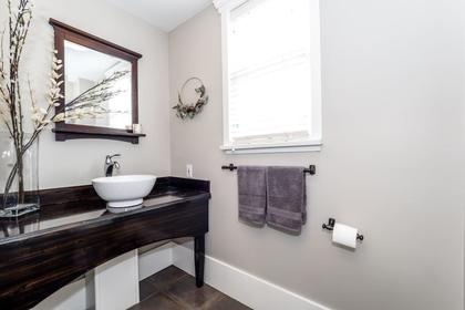 Powder Room at 426 E 10th Street, Central Lonsdale, North Vancouver