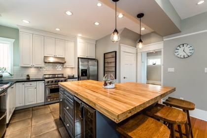 Kitchen at 426 E 10th Street, Central Lonsdale, North Vancouver