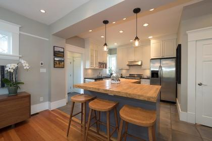 New Open Concept Kitchen at 426 E 10th Street, Central Lonsdale, North Vancouver