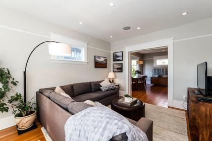 Living Room at 426 E 10th Street, Central Lonsdale, North Vancouver