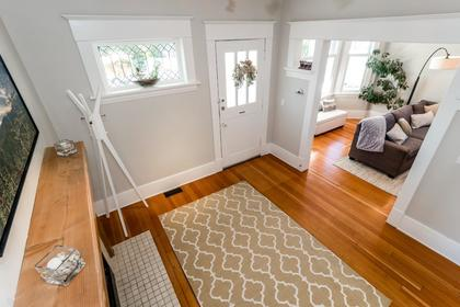 Foryer (from staircase) at 426 E 10th Street, Central Lonsdale, North Vancouver