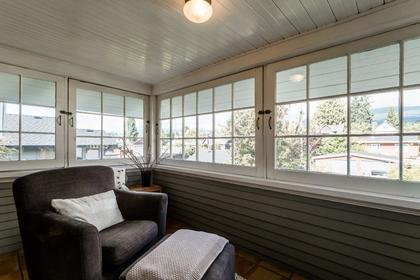 Enclosed Veranda (rear of house) at 426 E 10th Street, Central Lonsdale, North Vancouver