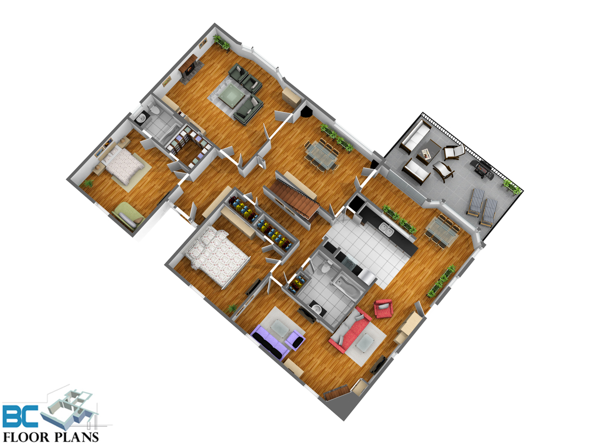 main-level at 1295 W Keith Road, Pemberton Heights, North Vancouver