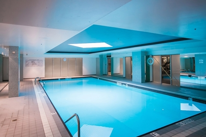 Indoor pools at 2600 - 588 Broughton Street, Coal Harbour, Vancouver West