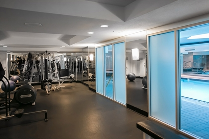 Gym at 2600 - 588 Broughton Street, Coal Harbour, Vancouver West