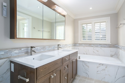 Master Bathroom at 1706 West 15th Avenue, Vancouver West