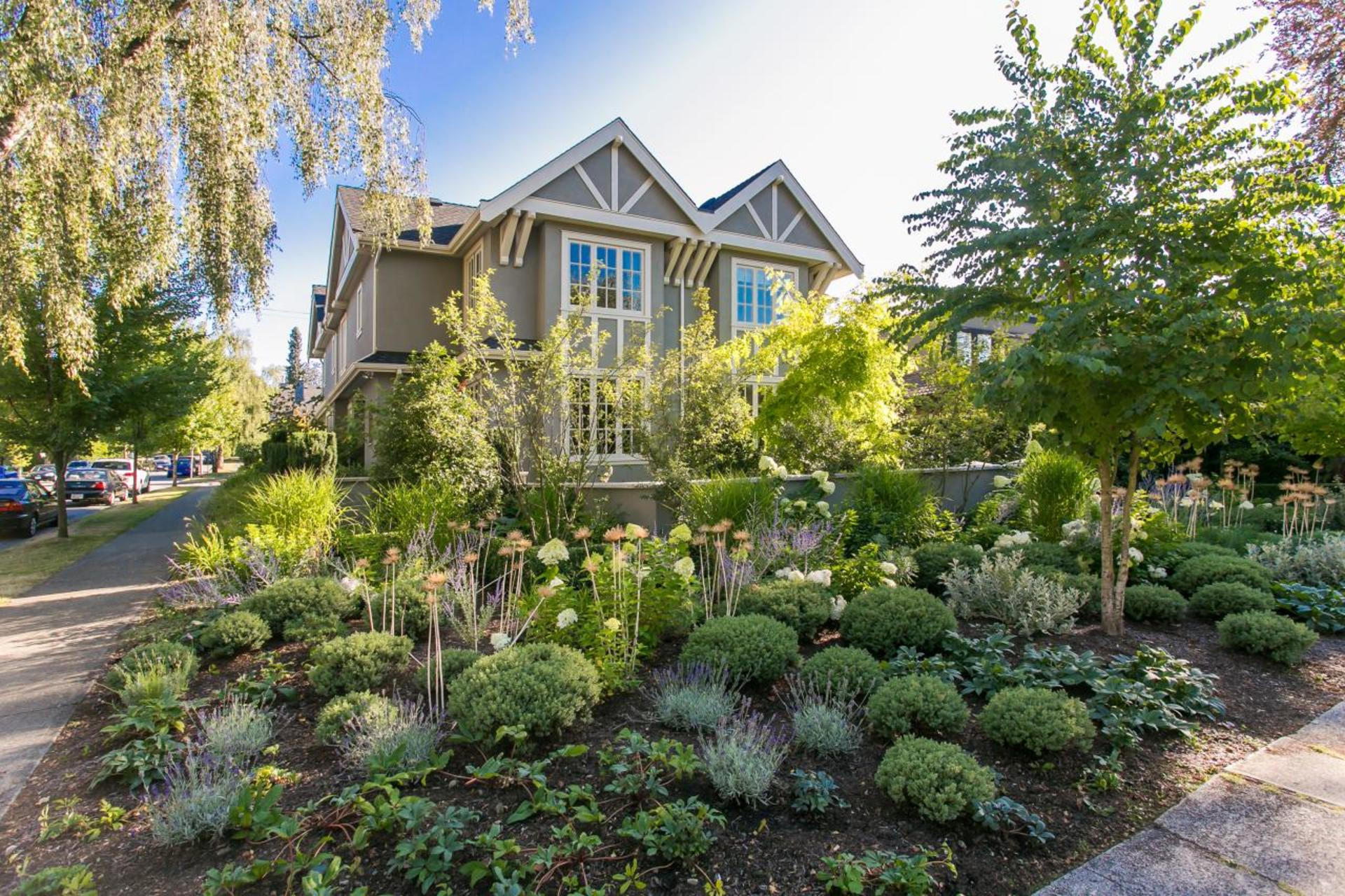 Garden at 1706 West 15th Avenue, Shaughnessy, Vancouver West