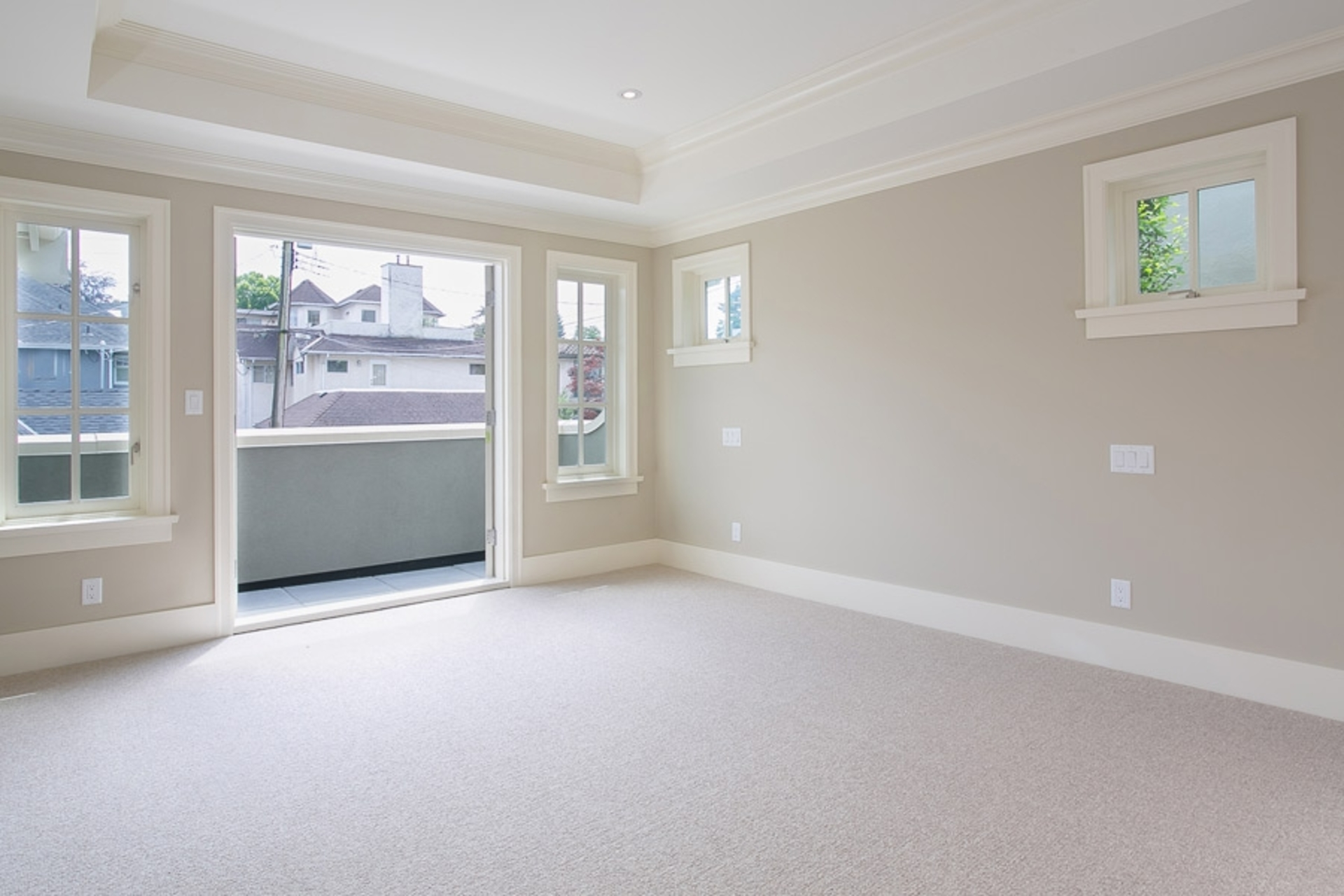 Master Bedroom at 1706 West 15th Avenue, Shaughnessy, Vancouver West