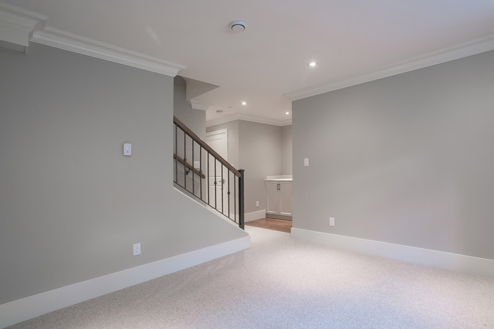Basement - Living Room at 1706 West 15th Avenue, Shaughnessy, Vancouver West