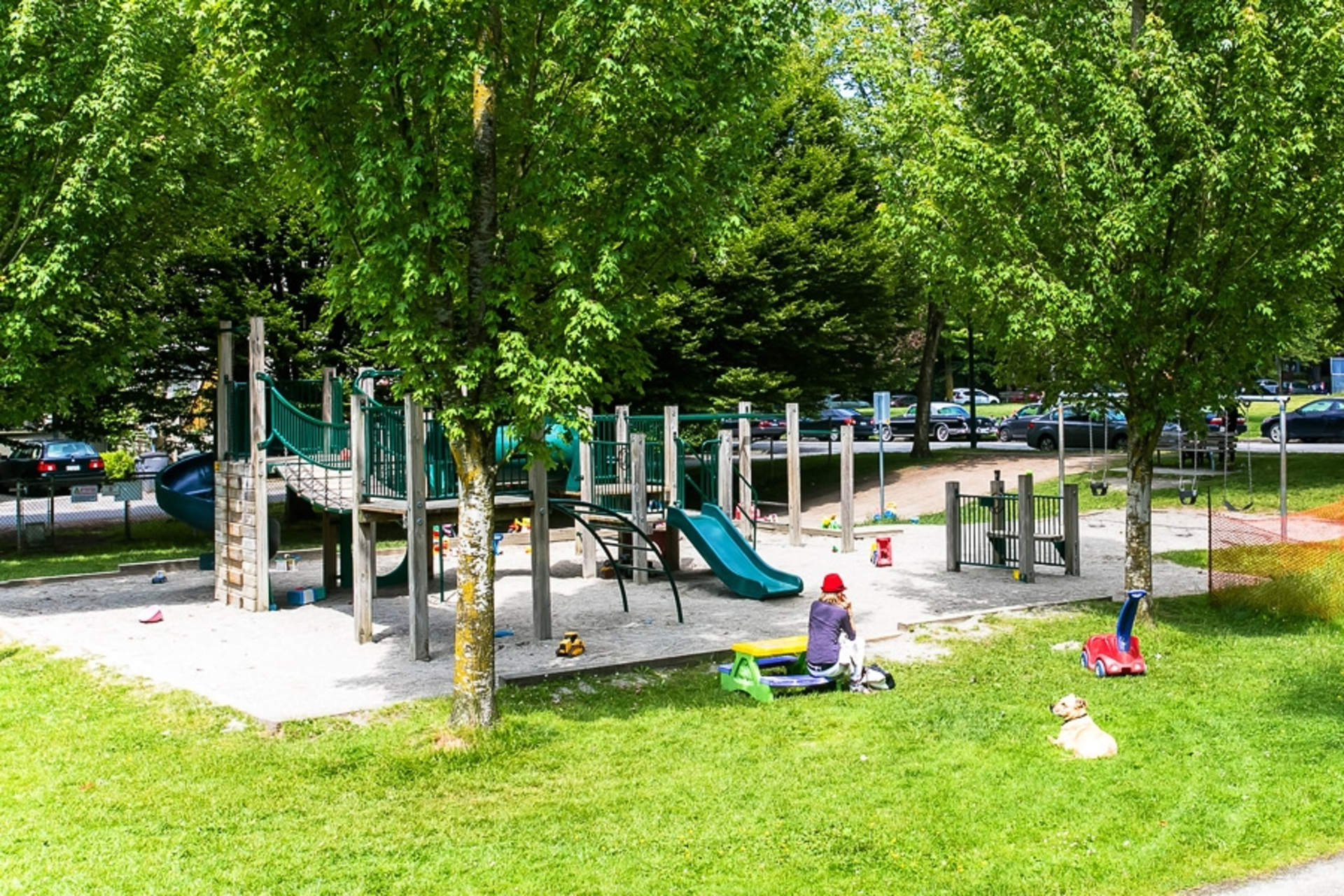 Children's play area at 1706 West 15th Avenue, Shaughnessy, Vancouver West