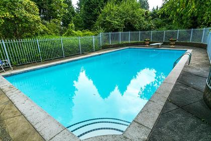 Outdoor Pool at 4770 West 2nd Avenue, Point Grey, Vancouver West