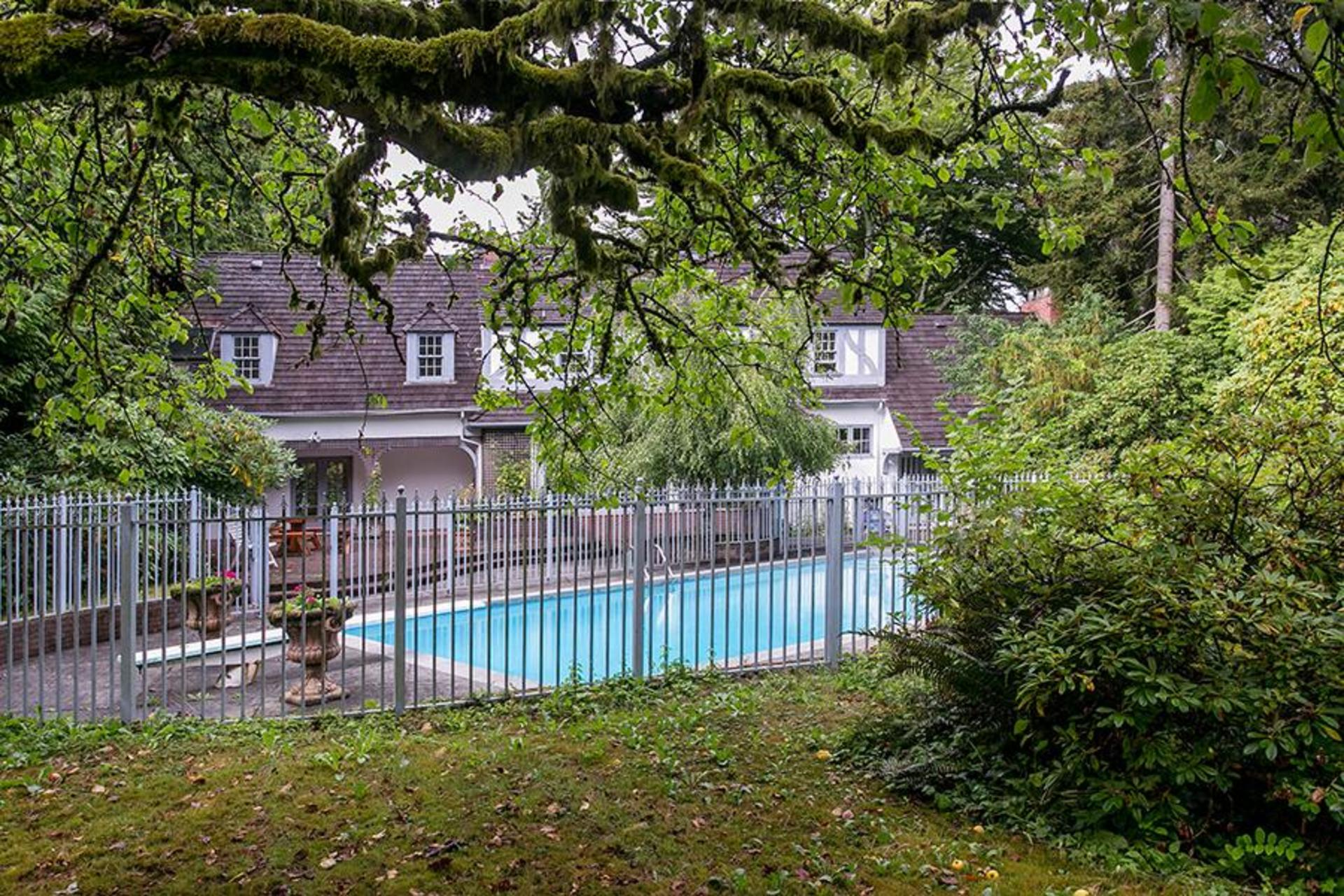 Backyard at 4770 West 2nd Avenue, Point Grey, Vancouver West