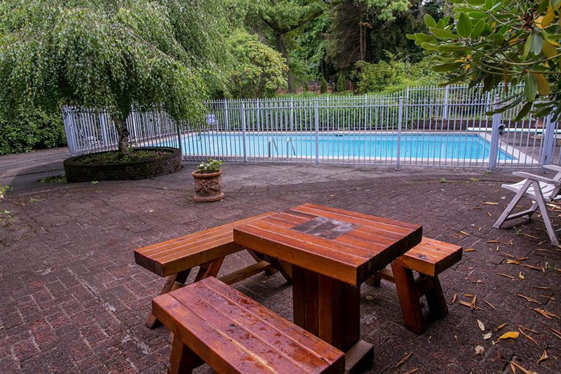 Patio at 4770 West 2nd Avenue, Point Grey, Vancouver West