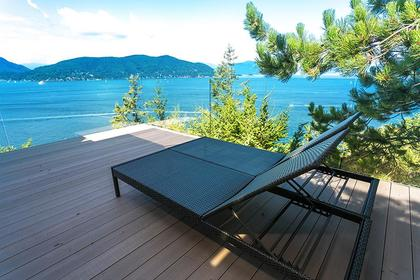 Water view at 6995 Hycroft, Whytecliff, West Vancouver