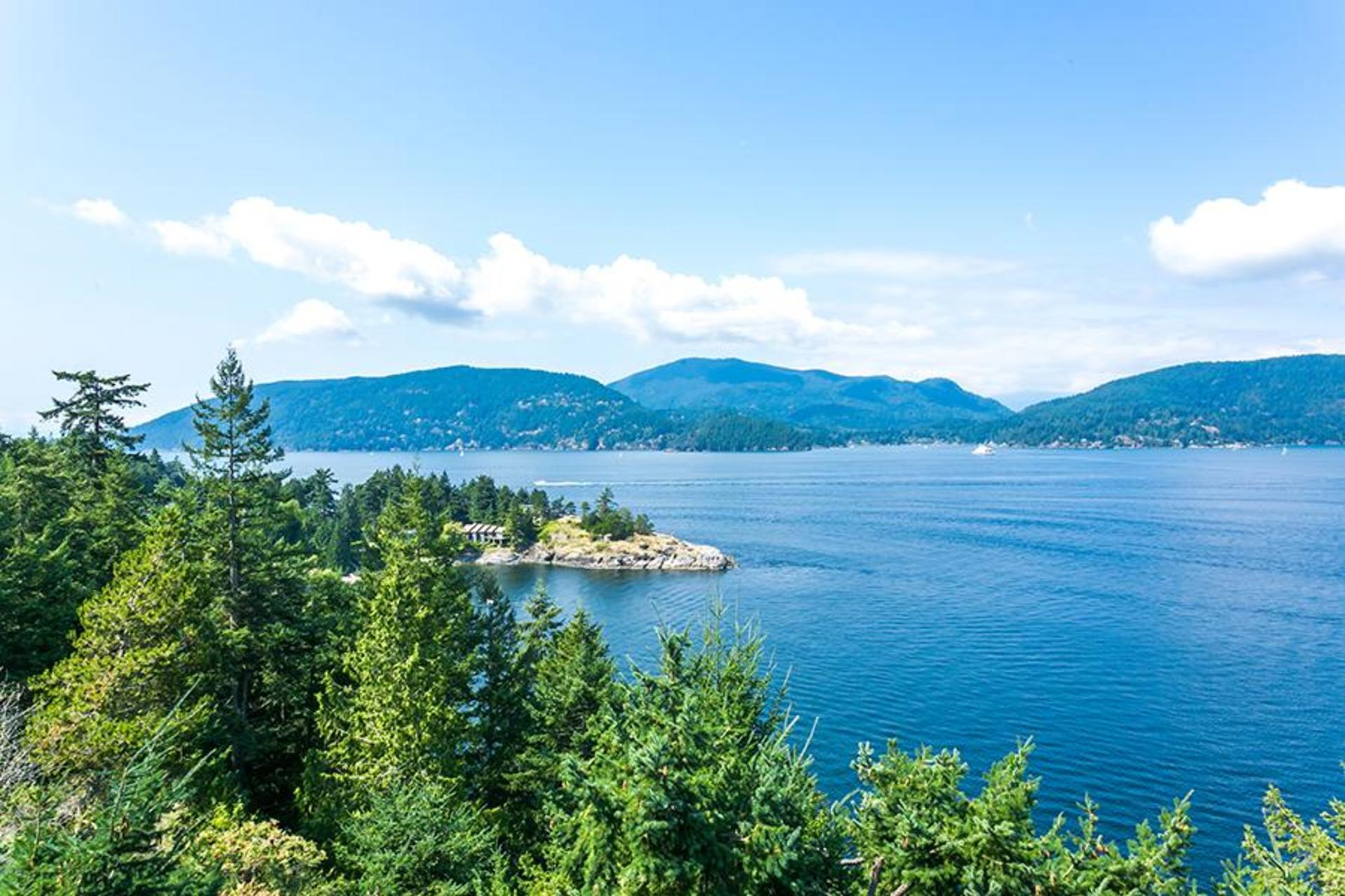 Ocean view at 6995 Hycroft, Whytecliff, West Vancouver