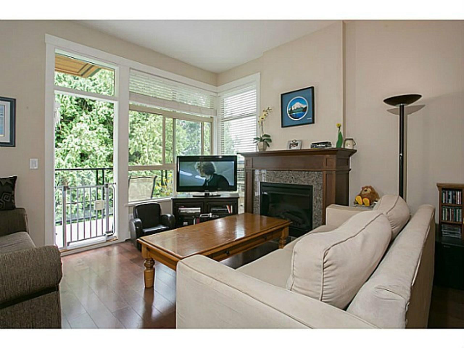Living Room at 510 - 6333 Larkin Drive, University VW, Vancouver West