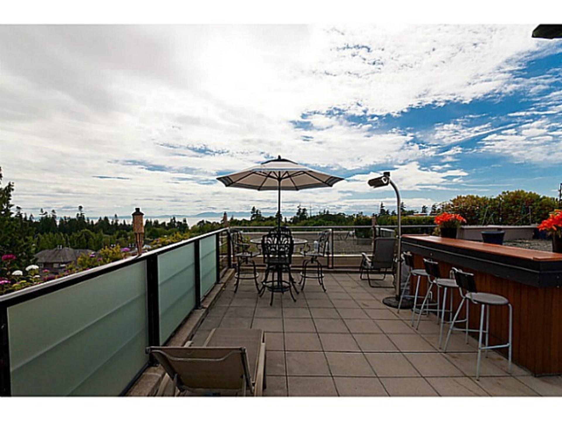 Patio at 510 - 6333 Larkin Drive, University VW, Vancouver West