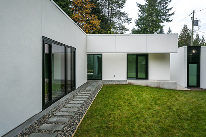 Backyard at Address Upon Request, Point Grey, Vancouver West