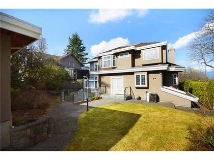 Backyard at Address Upon Request, Kerrisdale, Vancouver West