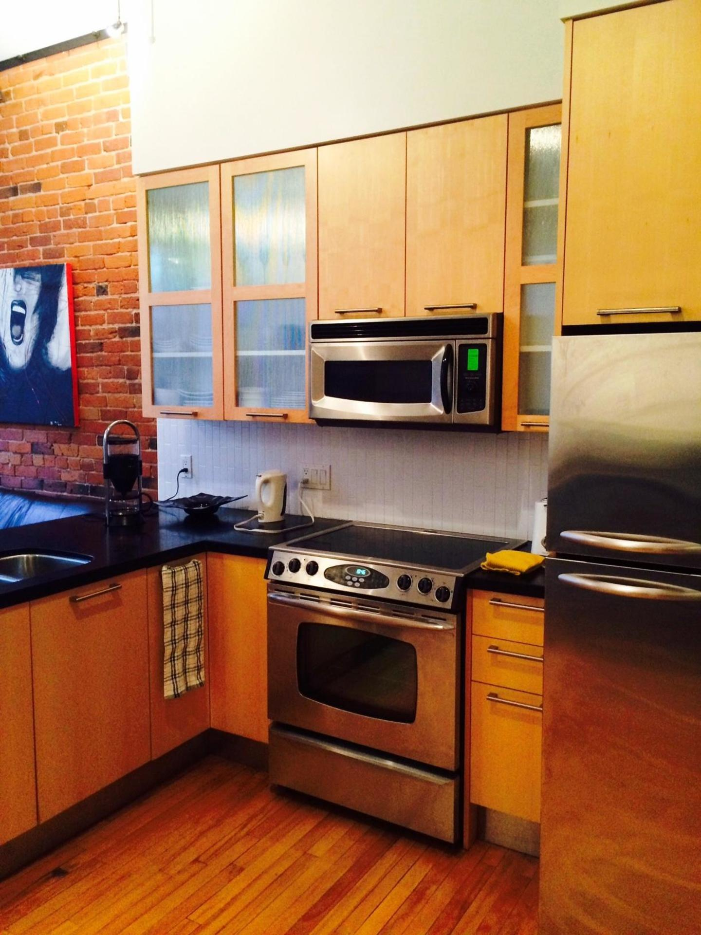 Appliances at 203 - 345 Water Street, Downtown VW, Vancouver West