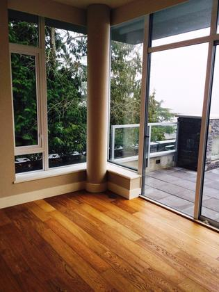 Balcony at 602 - 908 Keith Road, Park Royal, West Vancouver