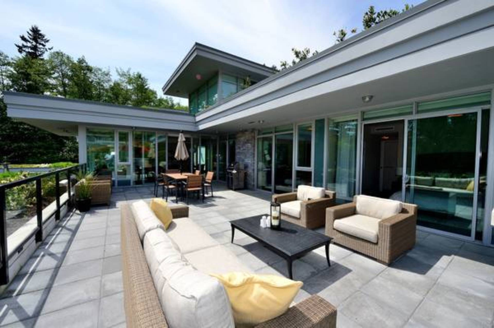 Patio at 602 - 908 Keith Road, Park Royal, West Vancouver