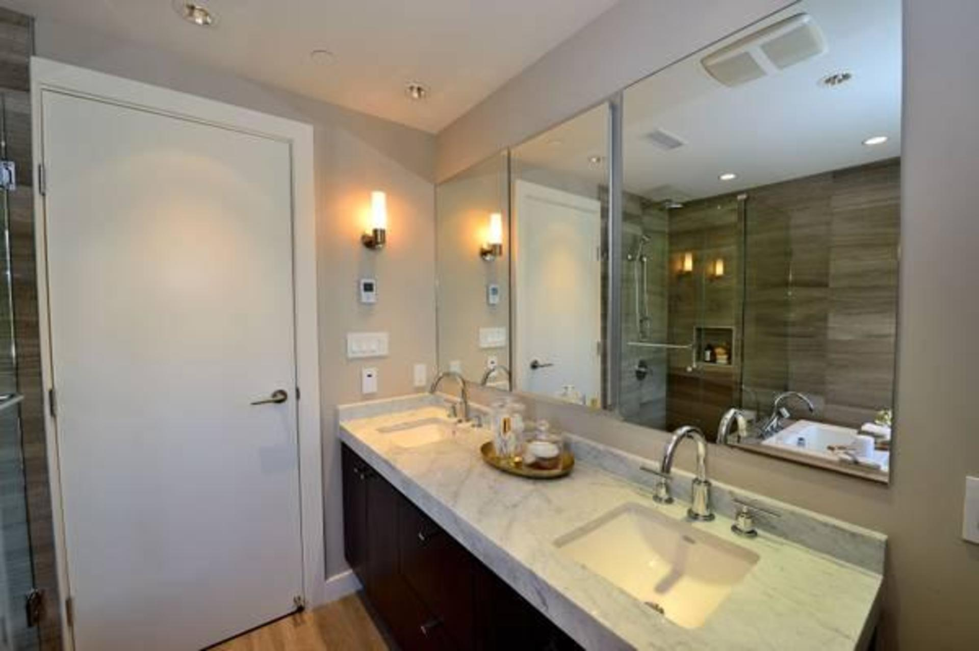 Bathroom at 602 - 908 Keith Road, Park Royal, West Vancouver