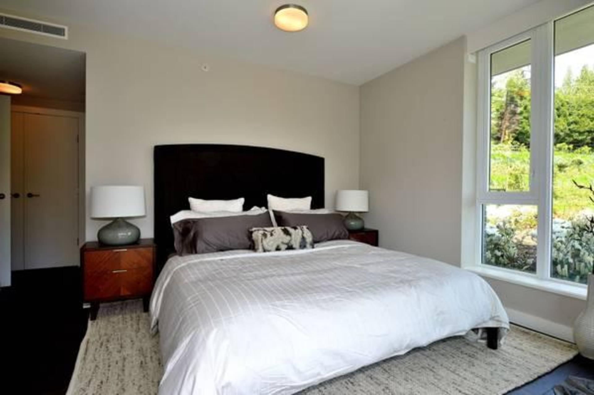 Bedroom at 602 - 908 Keith Road, Park Royal, West Vancouver