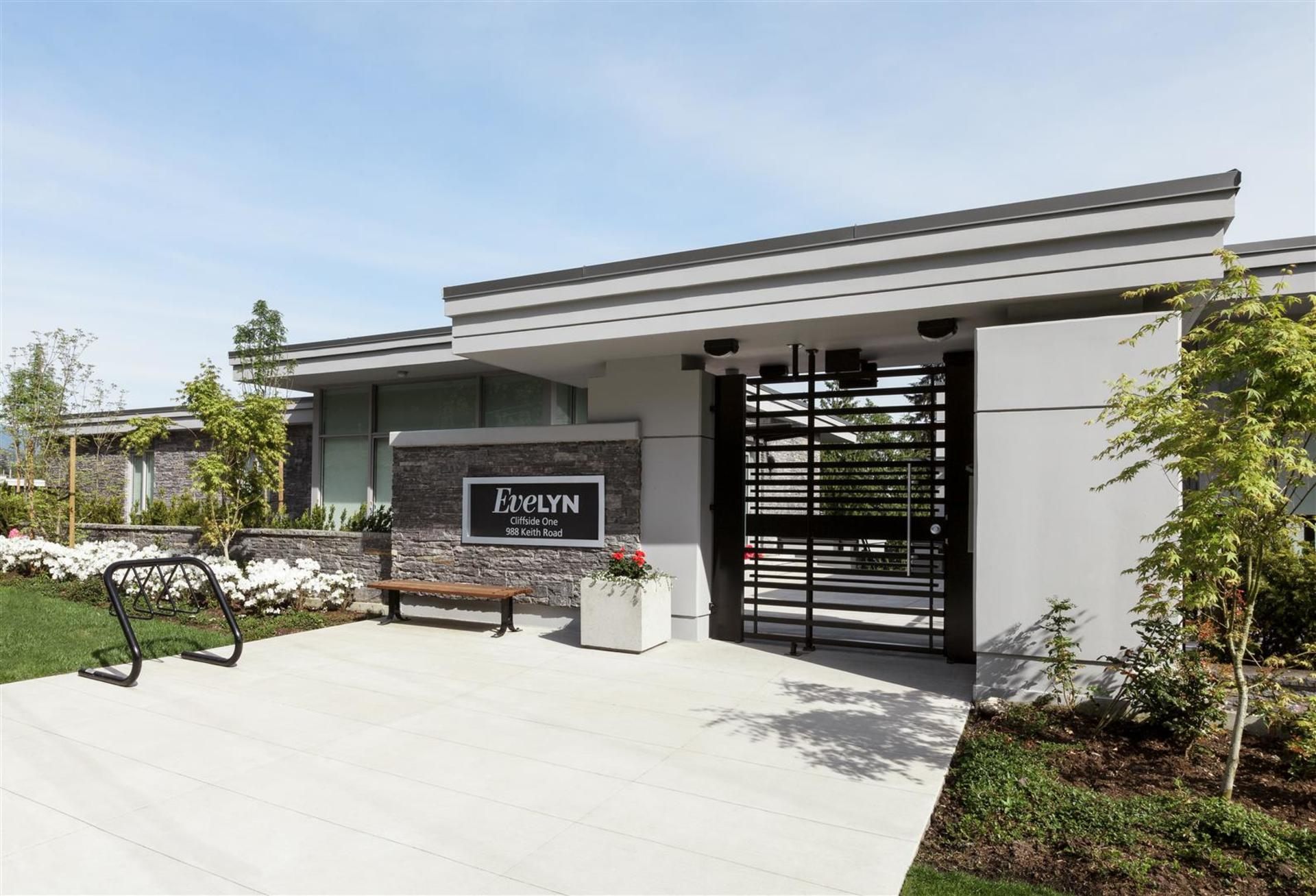 Entrance at 602 - 908 Keith Road, Park Royal, West Vancouver