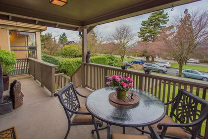 Balcony at Address Upon Request, Point Grey, Vancouver West