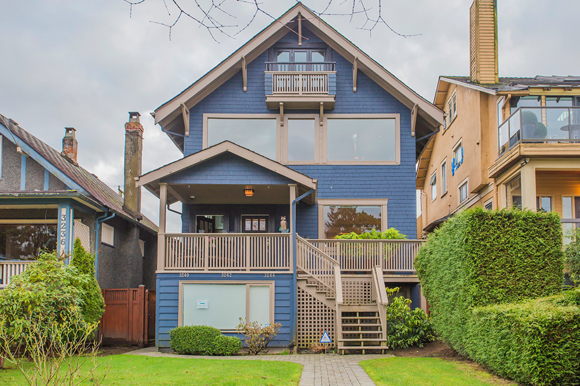Front house at Address Upon Request, Point Grey, Vancouver West