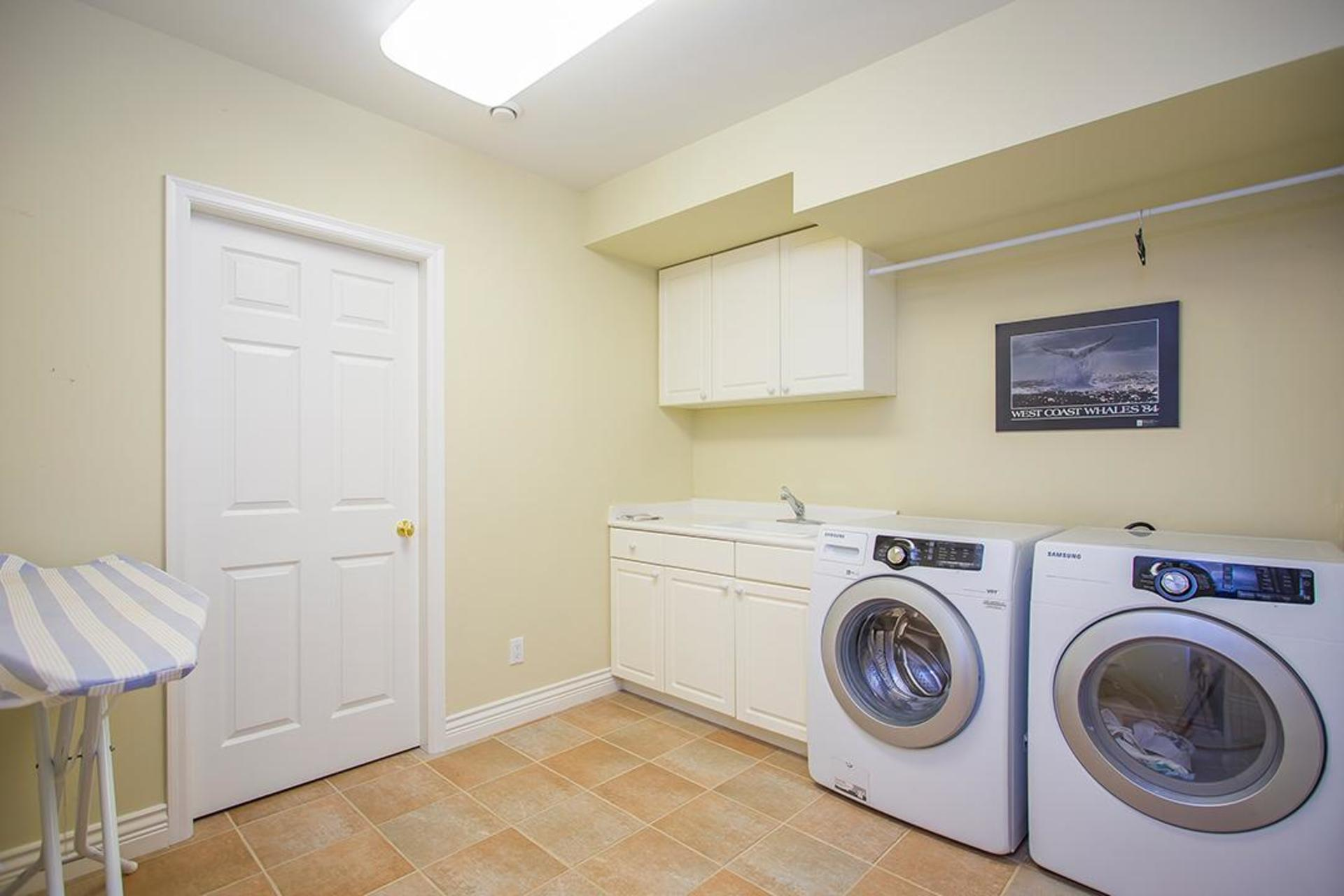 In suite Laundry at 2828 West 28 , MacKenzie Heights, Vancouver West