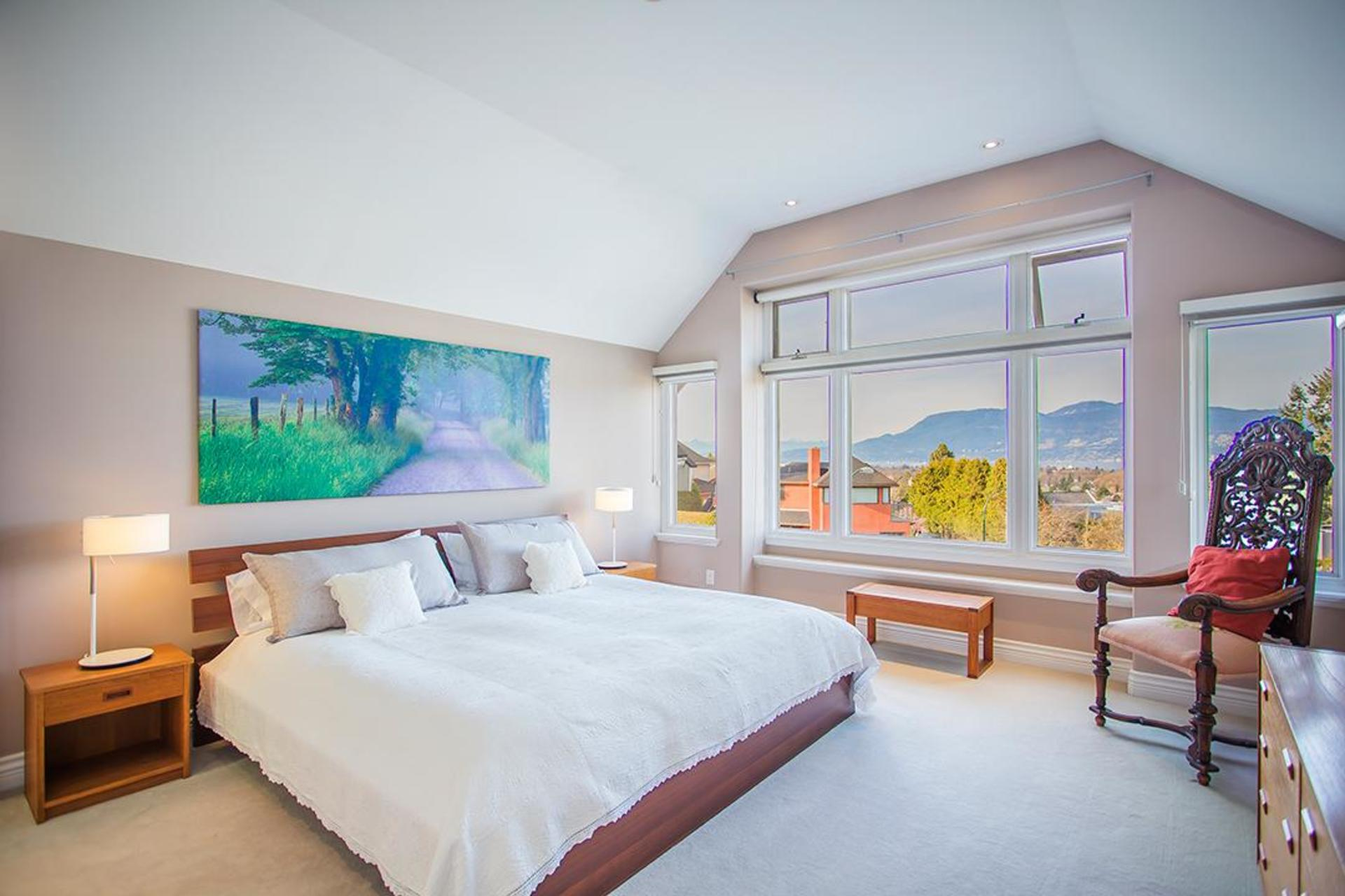 Master Bedroom at 2828 West 28 , MacKenzie Heights, Vancouver West