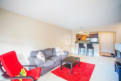 Living room at 218 - 2388 Western Parkway, University VW, Vancouver West