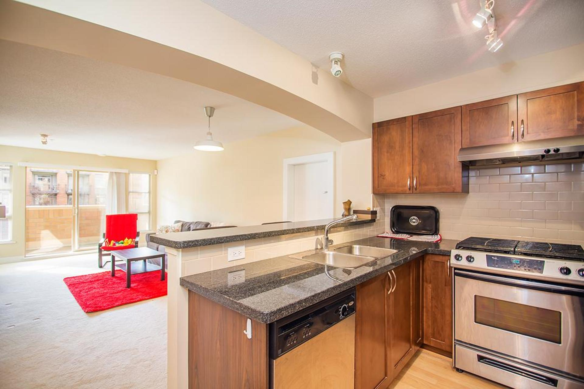 Appliances at 218 - 2388 Western Parkway, University VW, Vancouver West