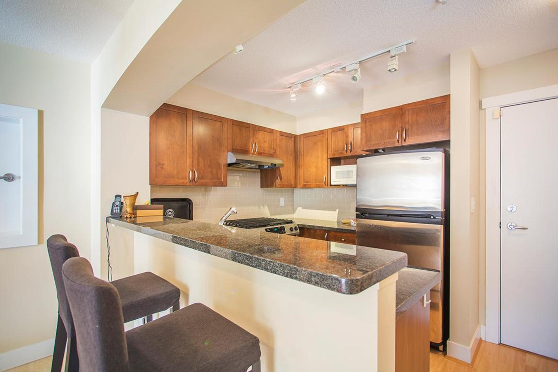 Breakfast Bar at 218 - 2388 Western Parkway, University VW, Vancouver West