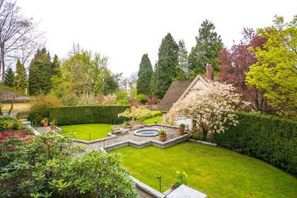 Backyard at  1333 The Crescent, Shaughnessy, Vancouver West