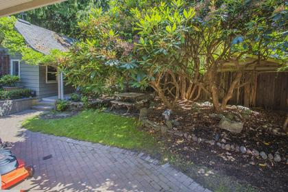 Yard at 1858 Quilchena Crescent, Quilchena, Vancouver West