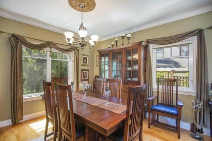 Dining Room at 1858 Quilchena Crescent, Quilchena, Vancouver West