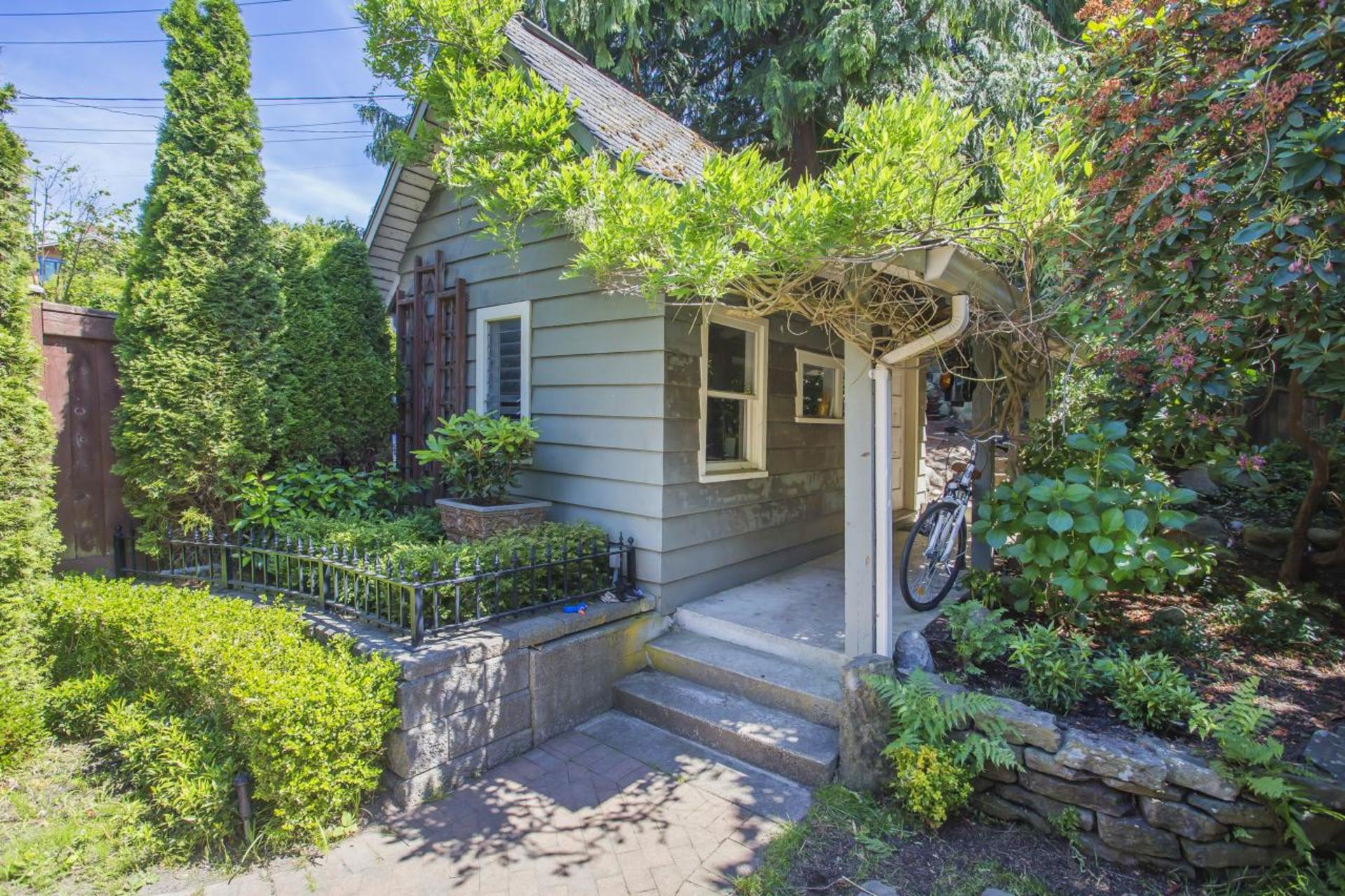 Back Entrance at 1858 Quilchena Crescent, Quilchena, Vancouver West