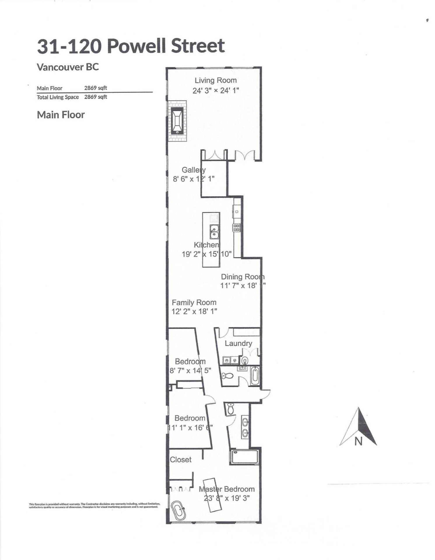 floor-plan-page-001 at #31 - 120 Powell , Downtown VW, Vancouver West